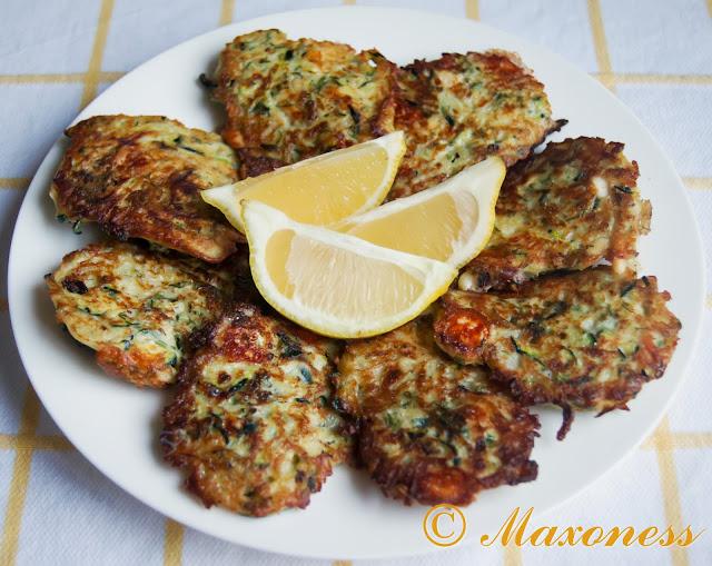 Оладьи из цукини с фетой и травами от Гордона Рамзи. Турецкая кухня.