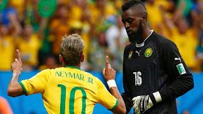 Brasil 4x1 Camarões - 2014
