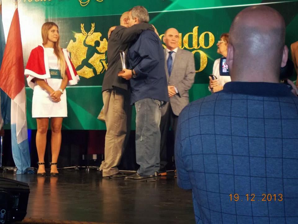La Confederación de Deportes distinguió a Rubén Di Liddo