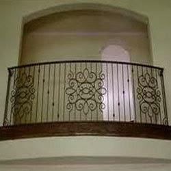 Modern Homes Iron Grill Balcony Designs