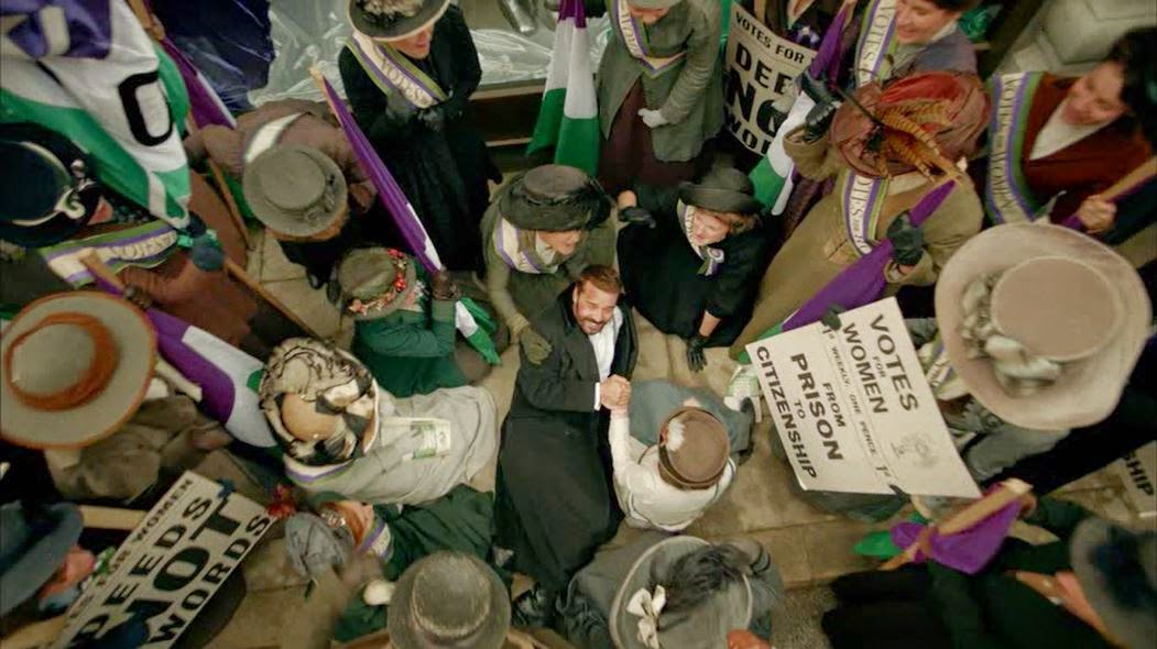 Mr. Selfridge with the Suffragettes