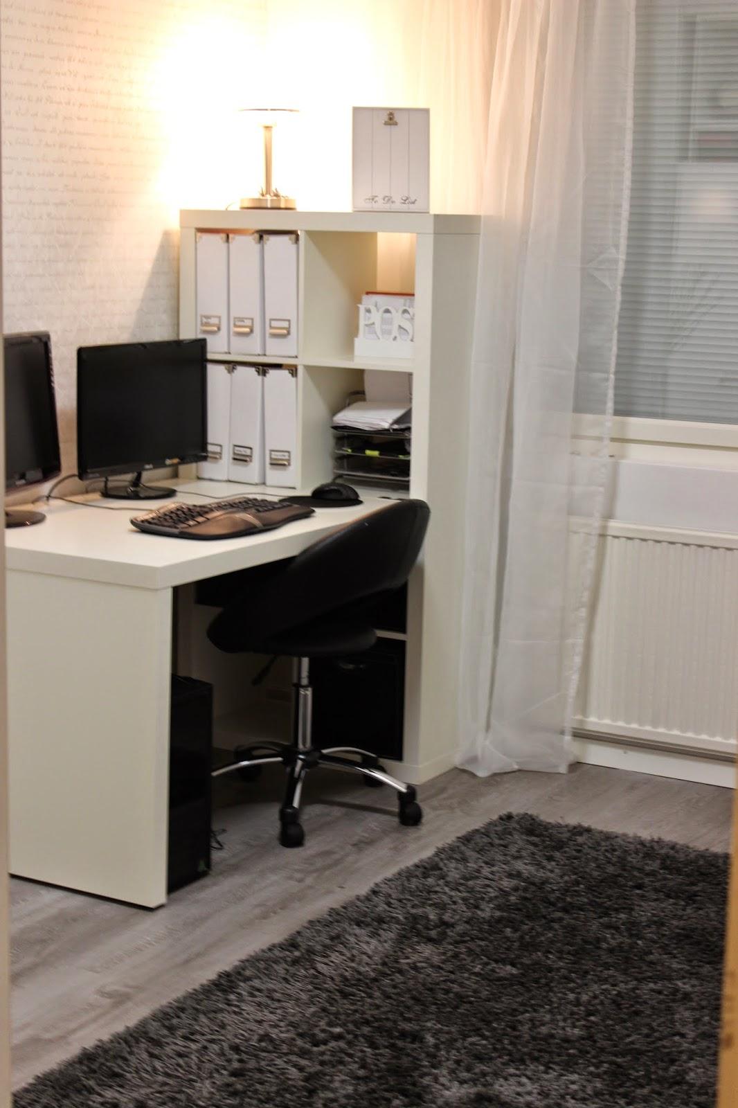 Netan Koti Työhuoneen sisustussuunnitelma