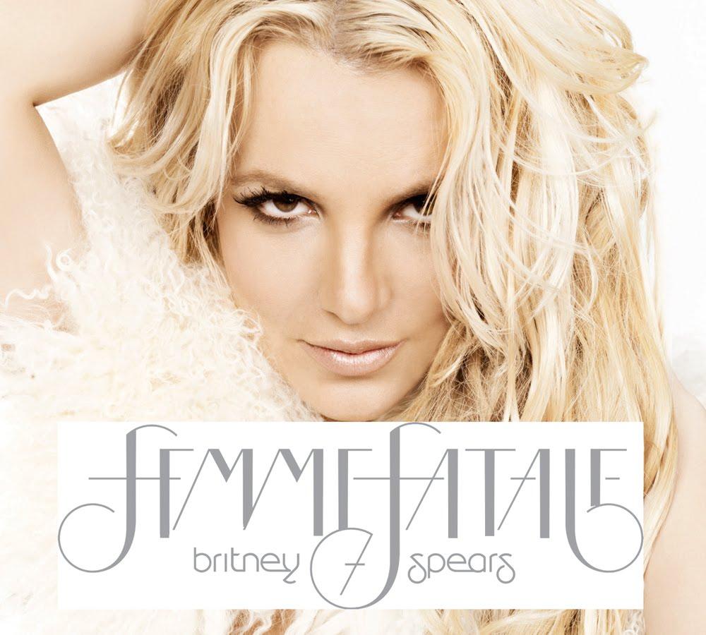 Britney Spears Femme Fatale Album Cover