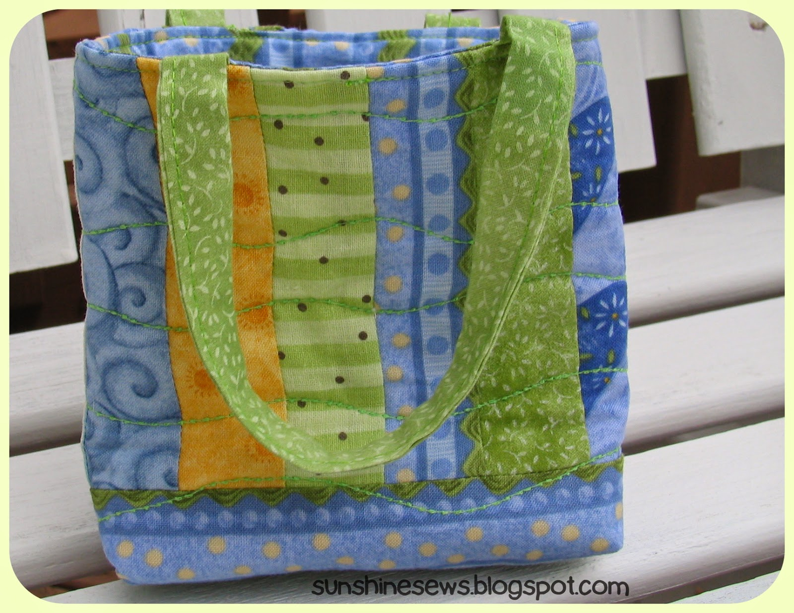 Quilted Mini Tote