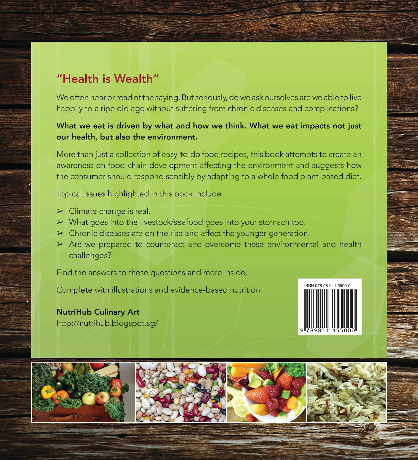 Get Healthy and Save $$$ thru Vegan NutriMeal - Back Cover