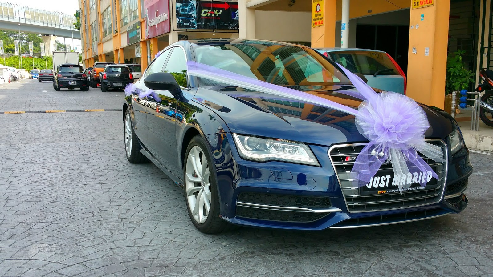 RedOrca Malaysia Wedding and Event Car Rental: Audi S7 ...