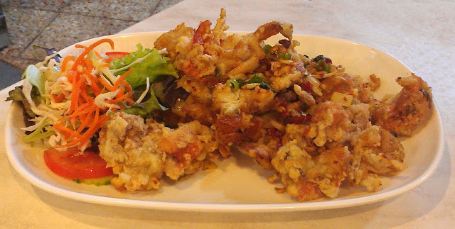 Malacca Straits on Broadway, Sydney, soft shell crab