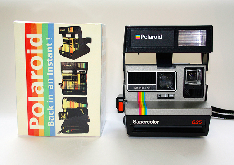 Polaroid Camera Box Design