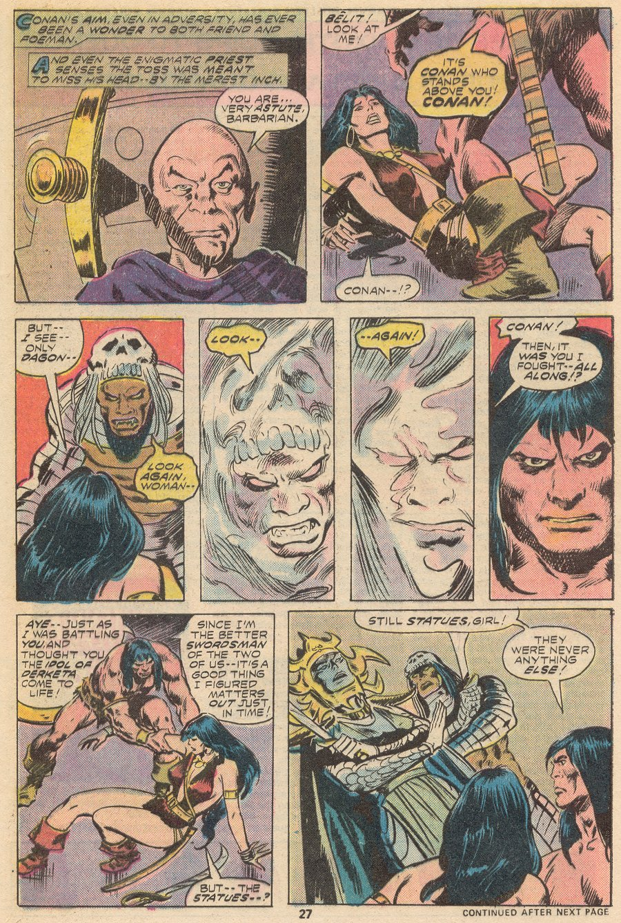 Conan the Barbarian (1970) Issue #66 #78 - English 17