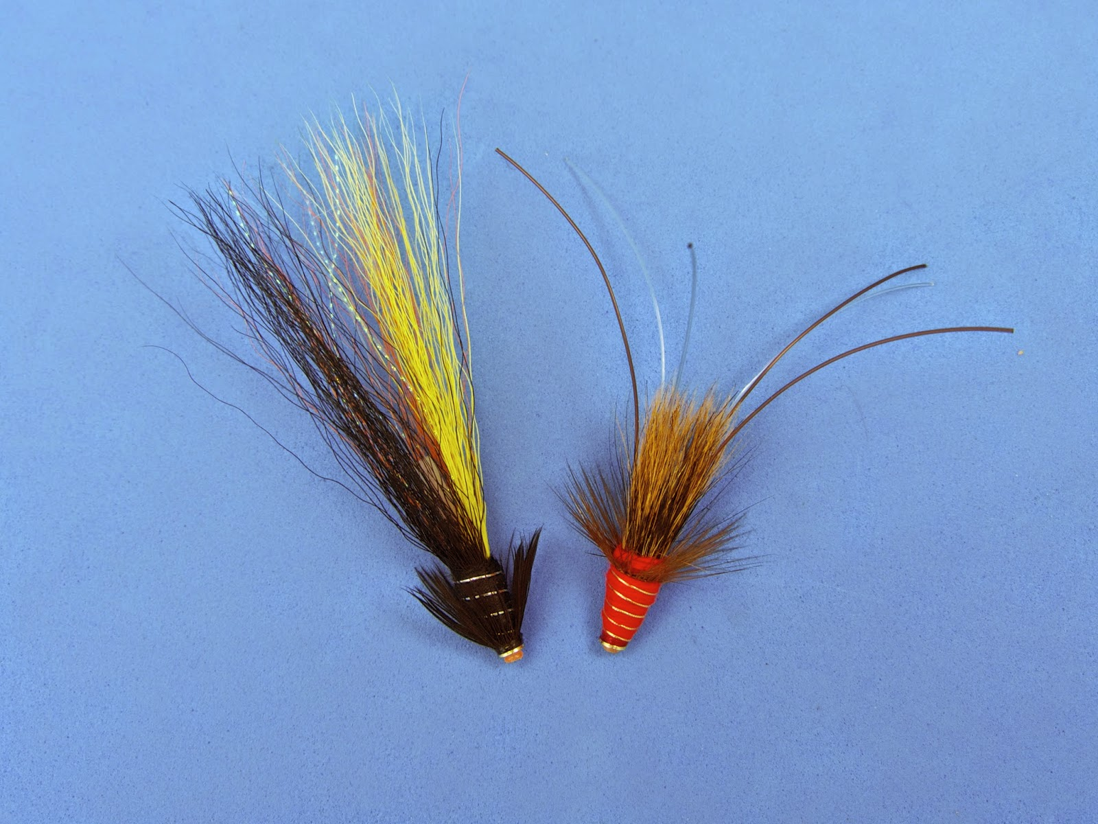 GERMAN SNAELDA SALMON FLIES ON TUBES