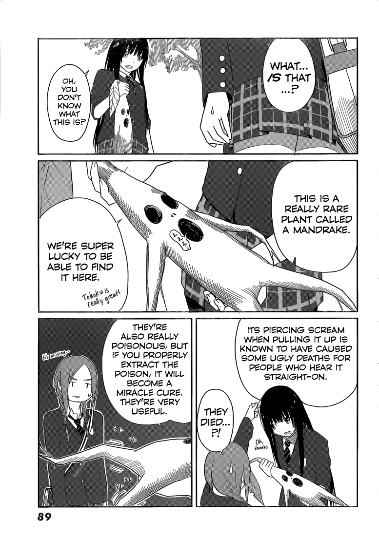 Flying Witch - Chapter 4
