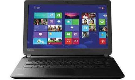 Harga Laptop Toshiba Di Bawah 5 Juta - Toshiba Satellite C40-A124