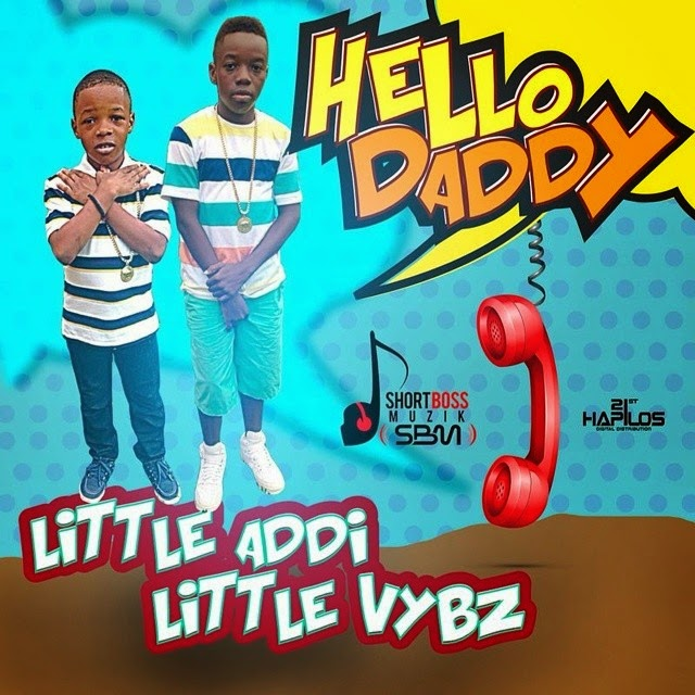 PG 13 (LITTLE VYBZ & LITTLE ADDI) [VYBZ KARTEL SONS] - HELLO DADDY - SHORT BOSS MUZIK [FMI]