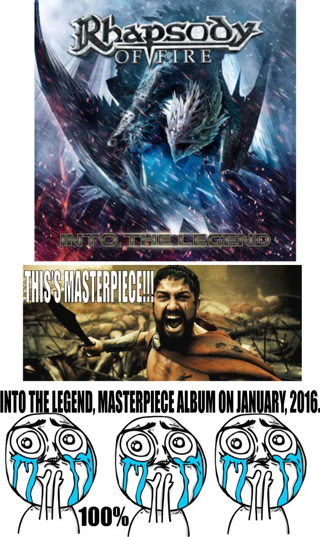 Rhapsody of Fire Into The Legend Album Reviews by Black Death Power Metal, Rhapsody of Fire Into The Legend Album Reviews