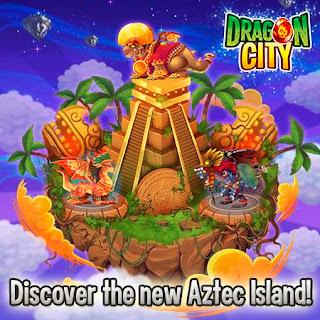 imagen del resultado de la isla azteca de dragon city