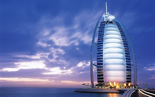 Burj Al Arab Hotel HD Wallpaper