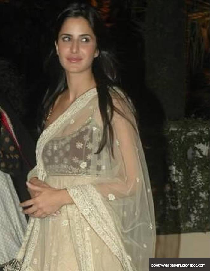 Katrina Kaif Wearing Anarkali Chooridar Shalwar Kamiz Hd