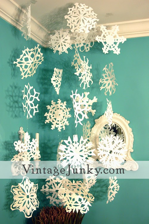 snowflake crafts for kids and free printable cut outs