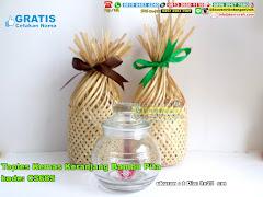 Toples Kemas Keranjang Bambu Pita