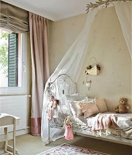 Retro y con encanto junio 2013 - Dosel cama nina ...