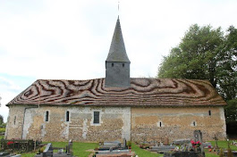 L'église de la Sainte-Trinité à la Trinité-de-Thouberville