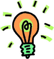 Drawing of a lighbulb