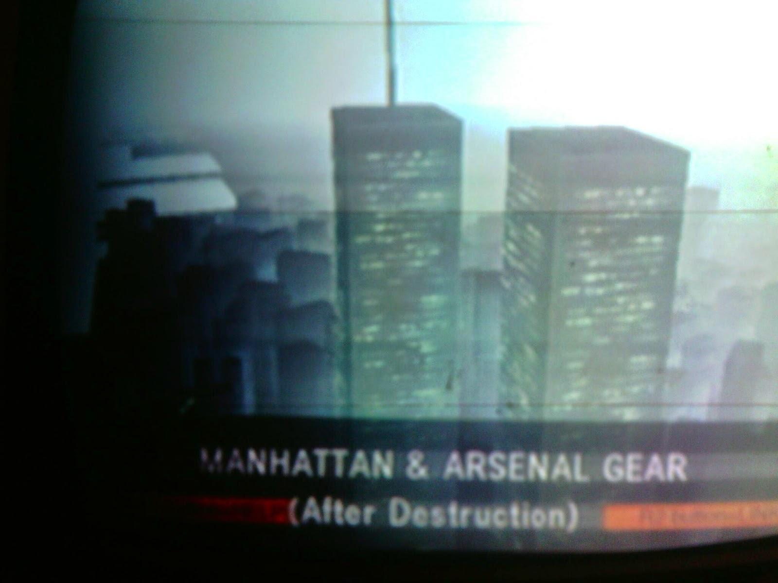 Mgsgnosis Metal Gear Solid 2 New York Mirror 9 11