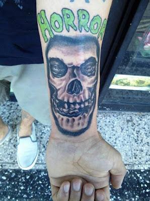 Tatuaje de Misfits