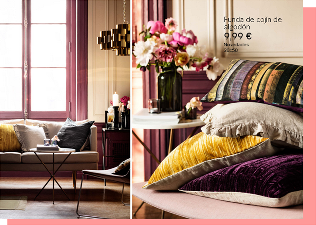 H&M decoración Home