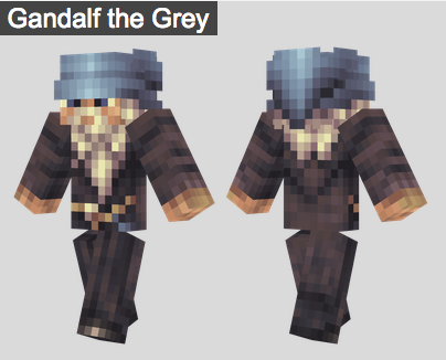 22. Gandalf the Grey Skin