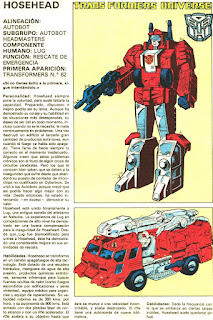 Hosehead (ficha transformers)