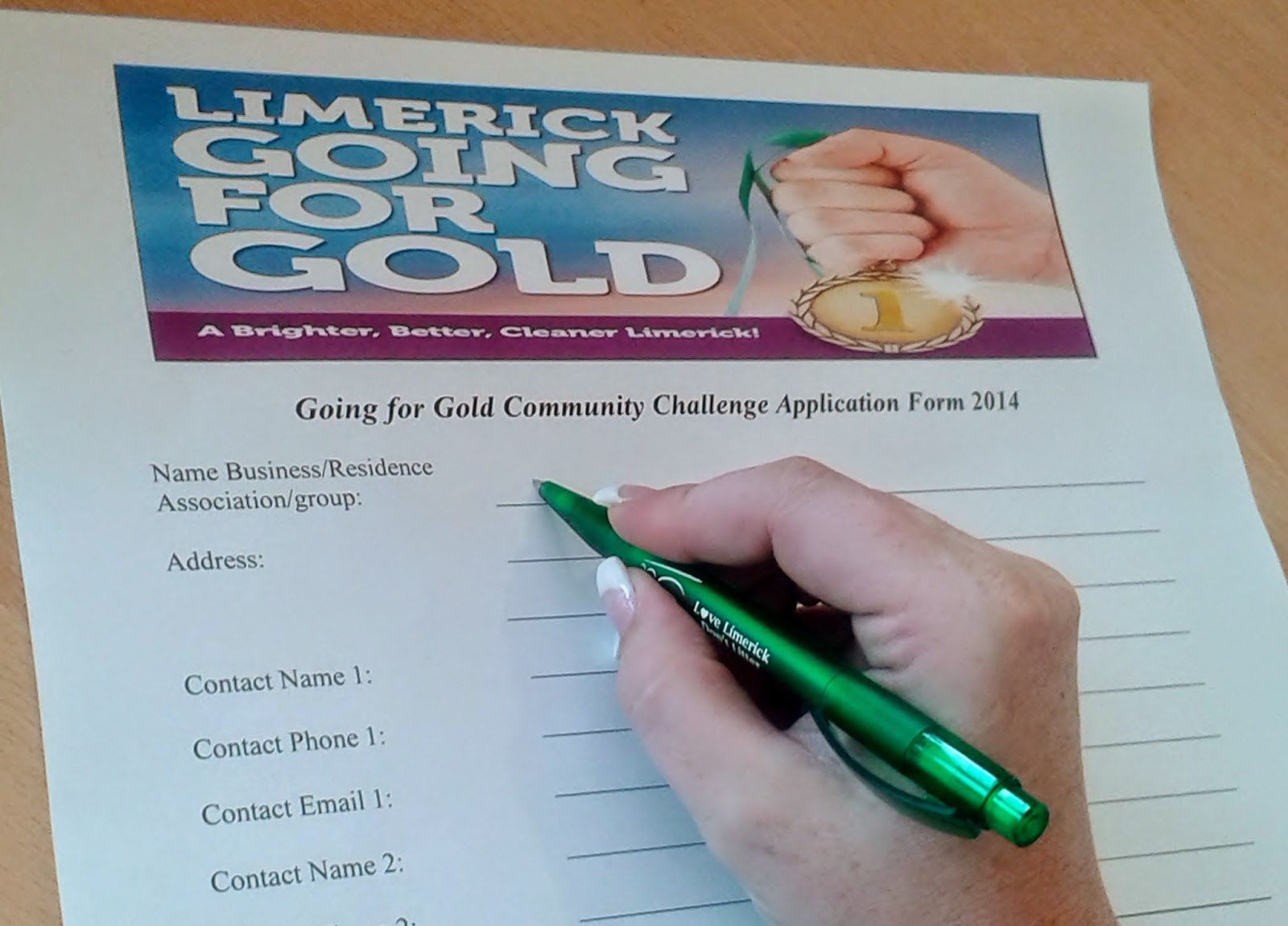 Going For Gold Community Challenge deadline nears