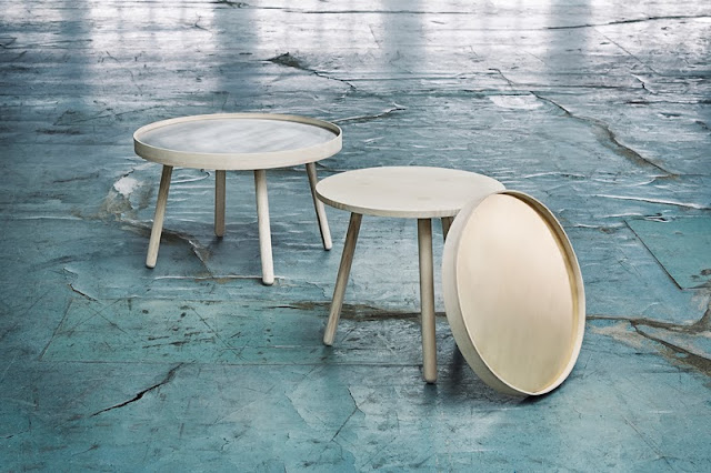 Turnaround Tables by Signe Hytte, danishdesign MAKERS