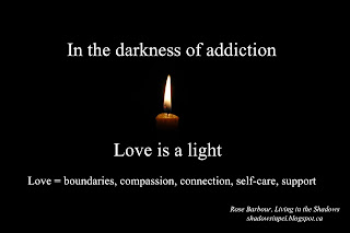 Addiction, family, love, boundaries, connection, self-care, support