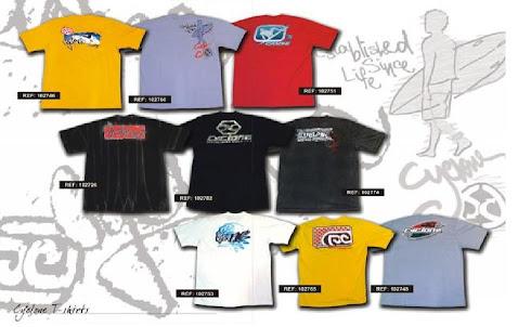 Novas Camisas...