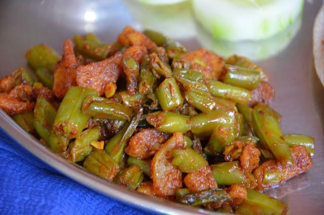 Su's Recipes: Aloo Beans Subzi