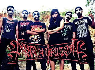 Mournia Diva Band Gothic Black Metal Bangkalan Madura Female Vocal Foto Logo Wallpaper