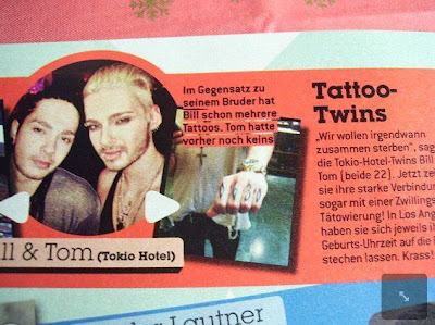 Bravo nº3/12 (Alemania) Tatto-twin