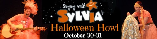 { singing with sylvia's 2014 halloween howl }
