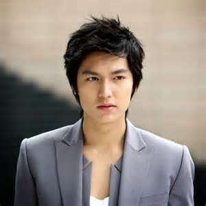 Model rambut pria k-pop korea  Oblique fringe x style