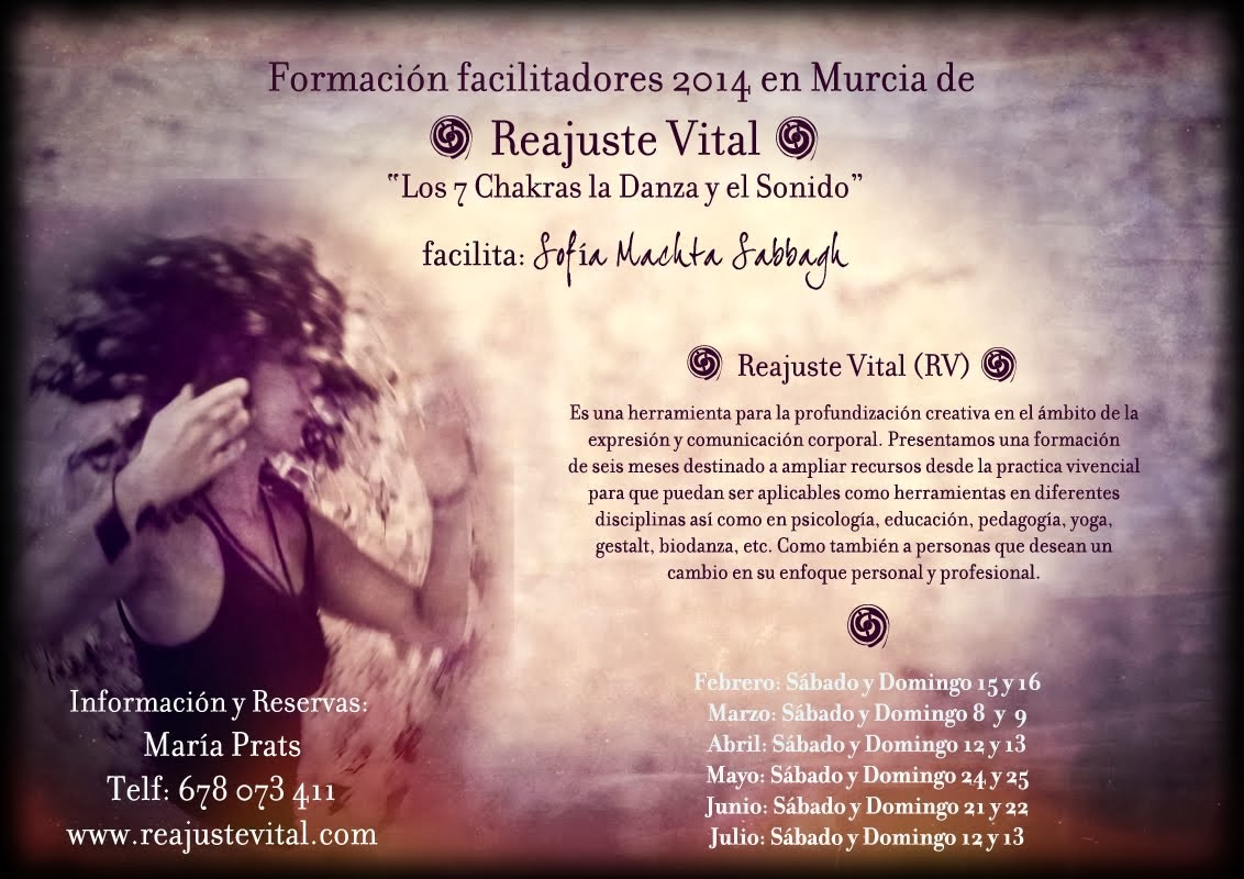 RV Formación de Facilitadores en Murcia 2014