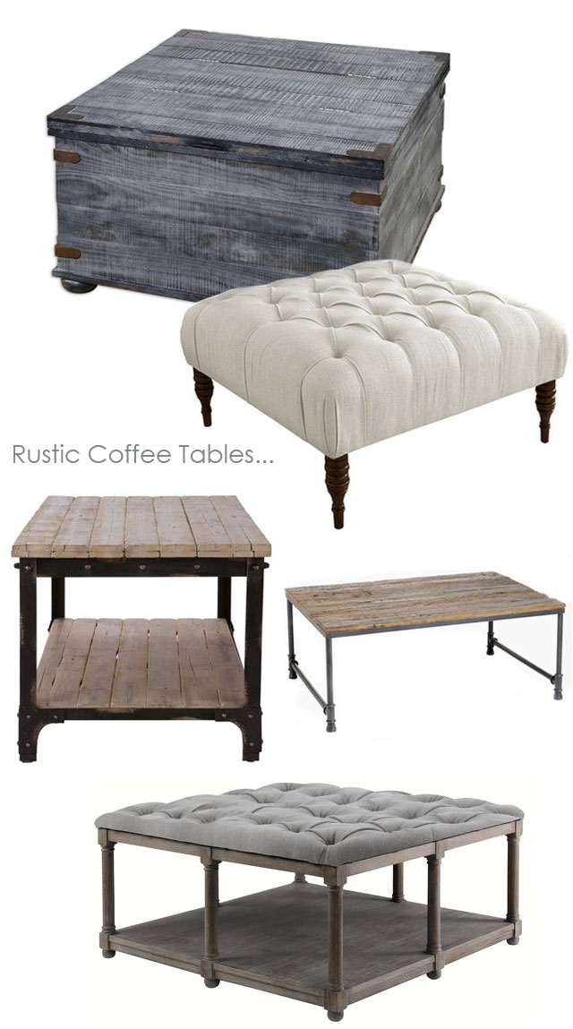 Incroyable Rustic Coffee Tables