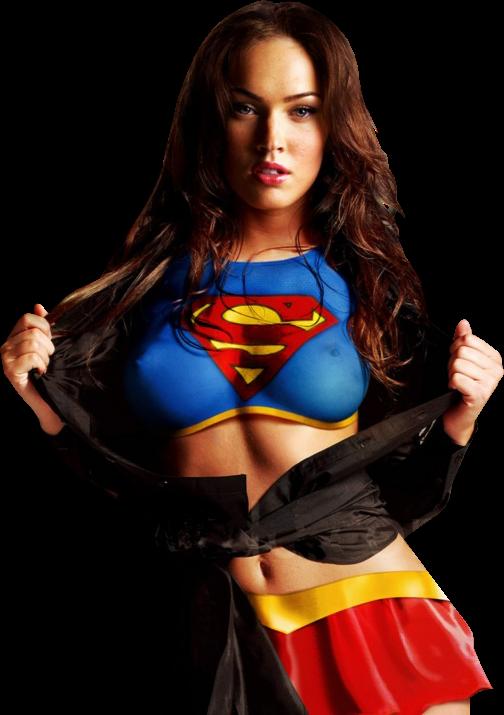 Supergirl mujer maravilla desnuda