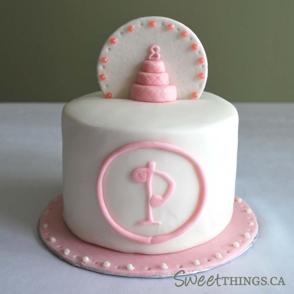 Sweetthings Cute Pink Cake