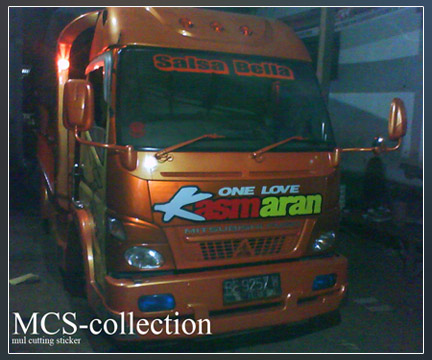 Truck Modifikasi by MCS mulcuttingsticker.