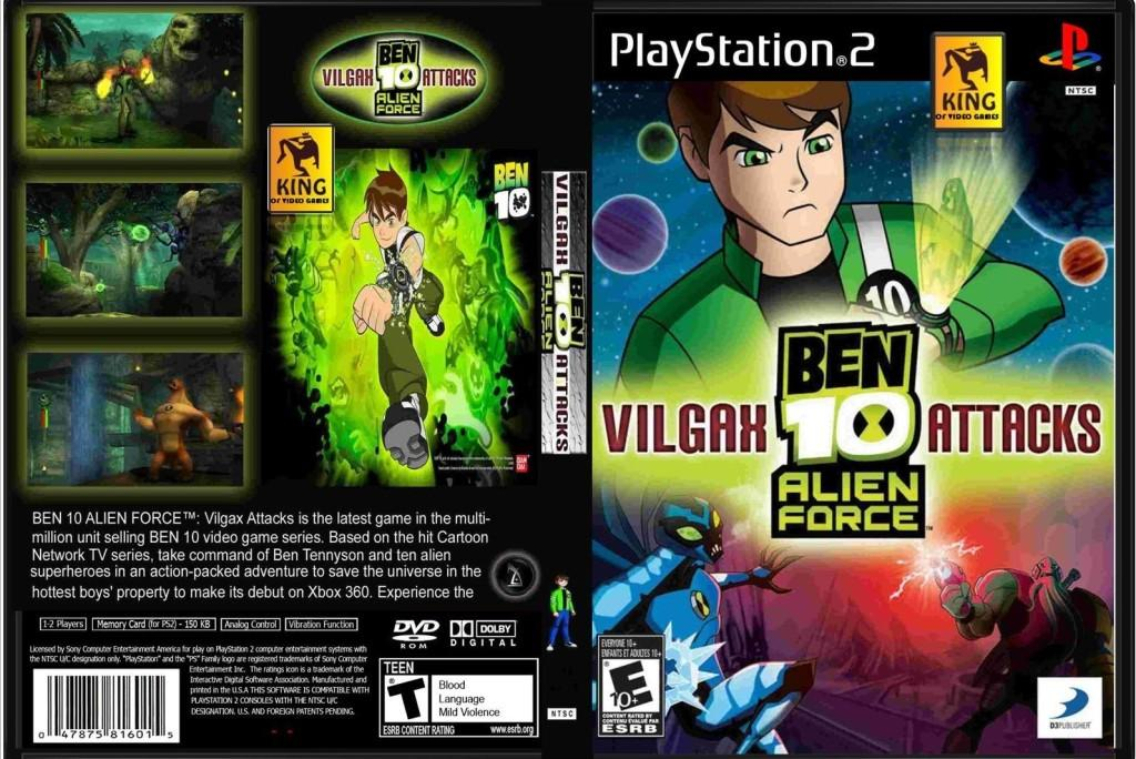 Ben 10 Alien Force: Vilgax Attacks [Full Multi Español] [PS2] [Mega