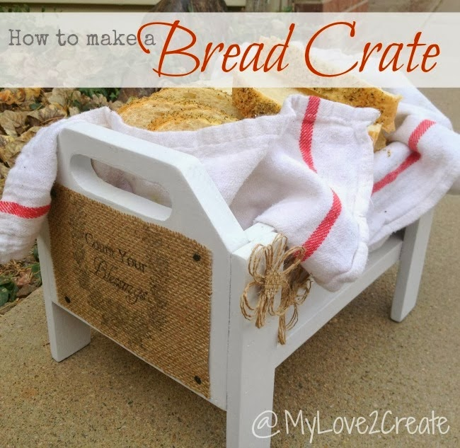MyLove2Create, How to make a Bread Crate