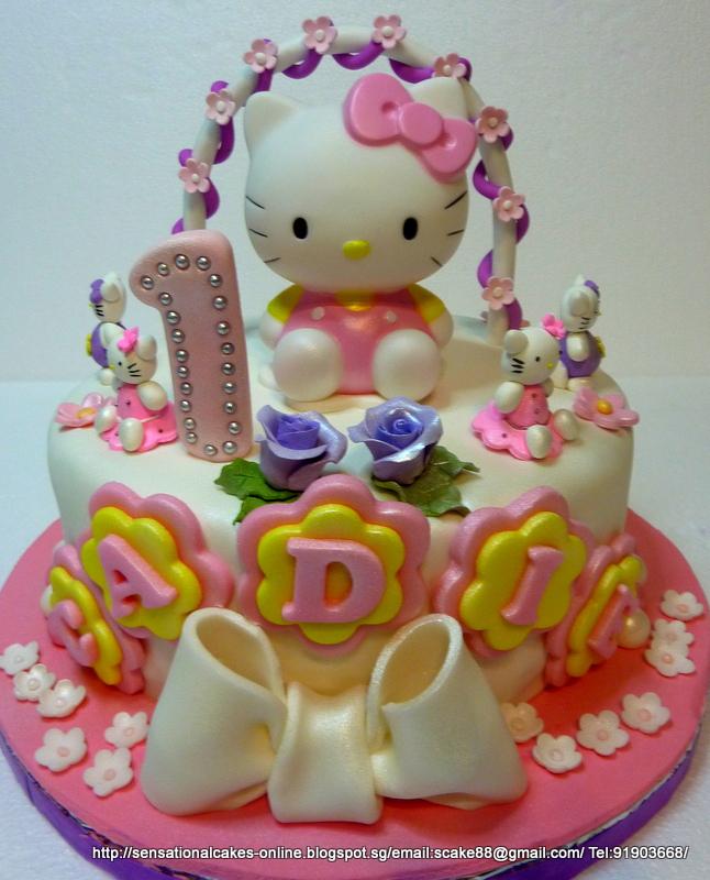The Sensational Cakes Hello Kitty New Cake Singapore
