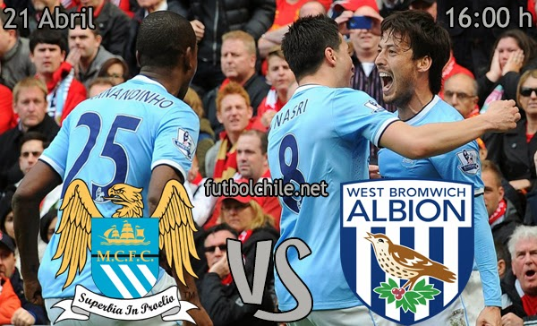 Manchester City vs West Bromwich - Premier League - 16:00 h - 21/04/2014