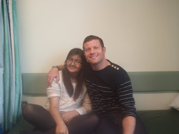 Me and Dermot O'leary